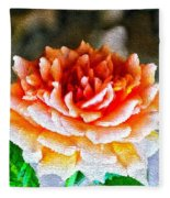 Magical Rose Fleece Blanket