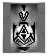 Magical Sign For Curse Removal Astral Practice Fleece Blanket