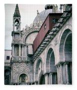 Magical Venice Fleece Blanket