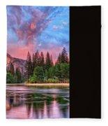 Magical Yosemite Fleece Blanket
