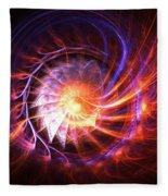 Magma Shell Fleece Blanket
