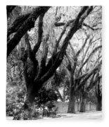 Magnolia Ave Fleece Blanket