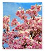 Magnolia Beauty #13 Fleece Blanket
