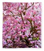 Magnolia Beauty #14 Fleece Blanket