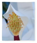 Magnolia Blossom 1 Fleece Blanket