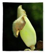Magnolia Bud Fleece Blanket