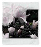 Magnolia Fantasy I Fleece Blanket