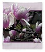 Magnolia Fantasy II Fleece Blanket