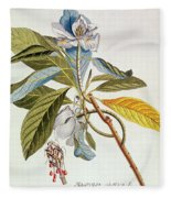 Magnolia Glauca Fleece Blanket