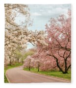 Magnolia Grove Fleece Blanket