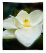 Magnolia In Color Fleece Blanket