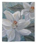 Magnolia Melody Fleece Blanket