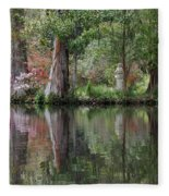 Magnolia Plantation Gardens Series Iv Fleece Blanket