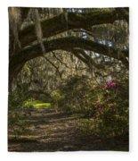 Magnolia Plantation Fleece Blanket