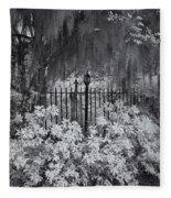 Magnolia Plantation Lightpost Fleece Blanket