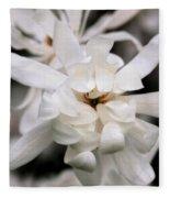 Magnolia Square Fleece Blanket
