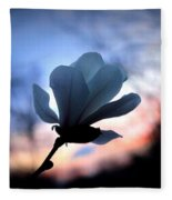 Magnolia Sunset Fleece Blanket