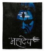 Mahadev Fleece Blanket