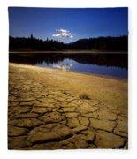 Mahoney Lake Fleece Blanket
