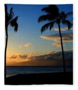Mai Ka Aina Mai Ke Kai Kaanapali Maui Hawaii Fleece Blanket