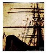 Maiden Voyage Fleece Blanket