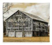 Mail Pouch Barn - Us 30 #3 Fleece Blanket