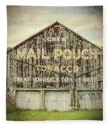 Mail Pouch Barn - Us 30 #7 Fleece Blanket