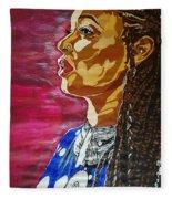 Maimouna Youssef Fleece Blanket