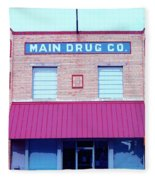 Main Drug Company Fleece Blanket