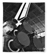Main Engines Fleece Blanket