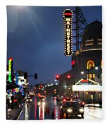Main Street Kansas City Fleece Blanket