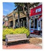 Main Street Mount Joy Fleece Blanket