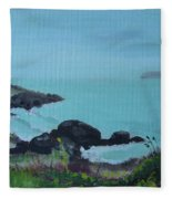 Maine Coast 1 Fleece Blanket