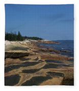 Maine Coast Fleece Blanket