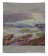 Maine Coast Fleece Blanket