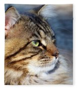 Maine Coon II Fleece Blanket