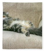 Maine Coon Fleece Blanket