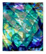 Mainspring Of Time Fleece Blanket
