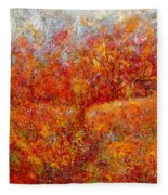 Majestic Autumn Fleece Blanket