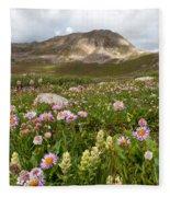 Majestic Colorado Alpine Meadow Fleece Blanket