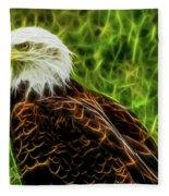 Majestic Eagle Fleece Blanket