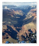 Majestic Grand Canyon Fleece Blanket