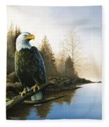 Majestic Light - Eagle Fleece Blanket