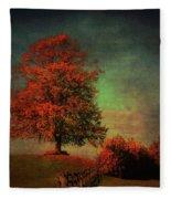 Majestic Linden Berry Tree Fleece Blanket