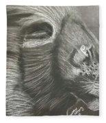 Majestic Lion Fleece Blanket