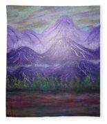 Majestic  Mountains Fleece Blanket