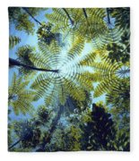 Majestic Treeferns Fleece Blanket