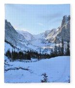 Majestic Winter Landscape Fleece Blanket