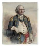 Major General Israel Putnam Fleece Blanket