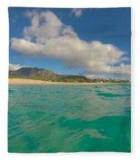 Makaha Blues Fleece Blanket